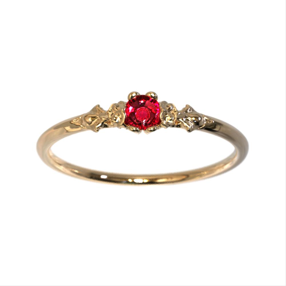 Classic engagement rings
